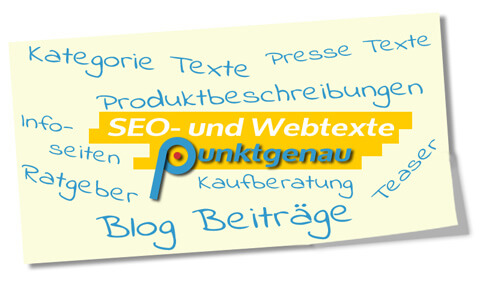 Notizzettel Brainstorming SEO und Webtexte